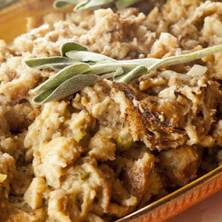 Sourdough Stuffing With Sage, Thyme And Marjoram