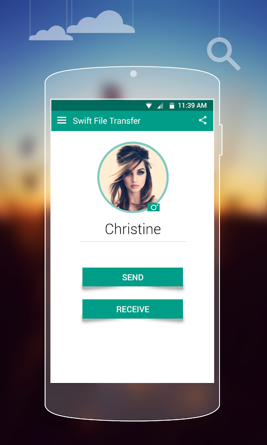 Screenshots of SFT - Swift File Transfer for Android