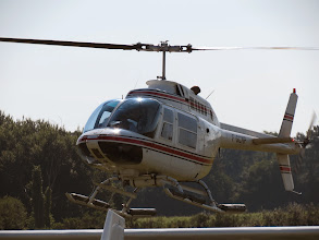 Photo: Agusta-Bell AB-206B JetRanger III à l'atterrissage