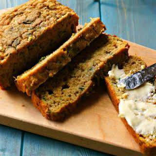 Whole Wheat Zucchini Bread.