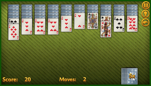 how to play spider solitaire with 1 deck of cards