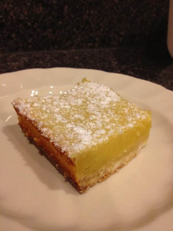Barefoot Contessa's No Fail Lemon Bars Recipe