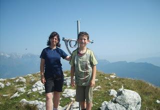 Photo: In posa sulla cima Caminacol