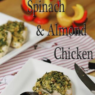 Spinach & Almond Chicken