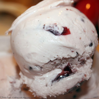 Cherry Amaretto Chocolate Chip Ice-Cream