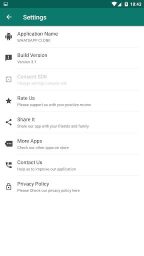 Clone App for whatsapp screenshot 5