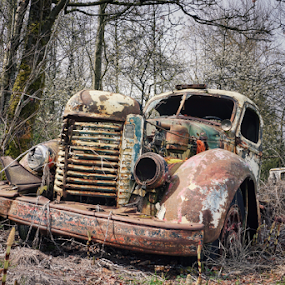 End of the line  by Todd Reynolds - Transportation Automobiles