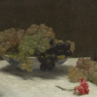 Henri Fantin-Latour – Baked Cheesecake with Sugared Grapes Recipe
