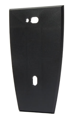 Monteringsplatta för montering på metall underlag svart
