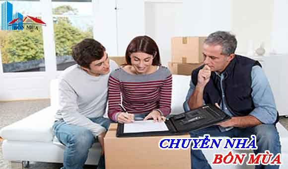 ký kết hợp đồng chuyển nhà trọn gói cho khách