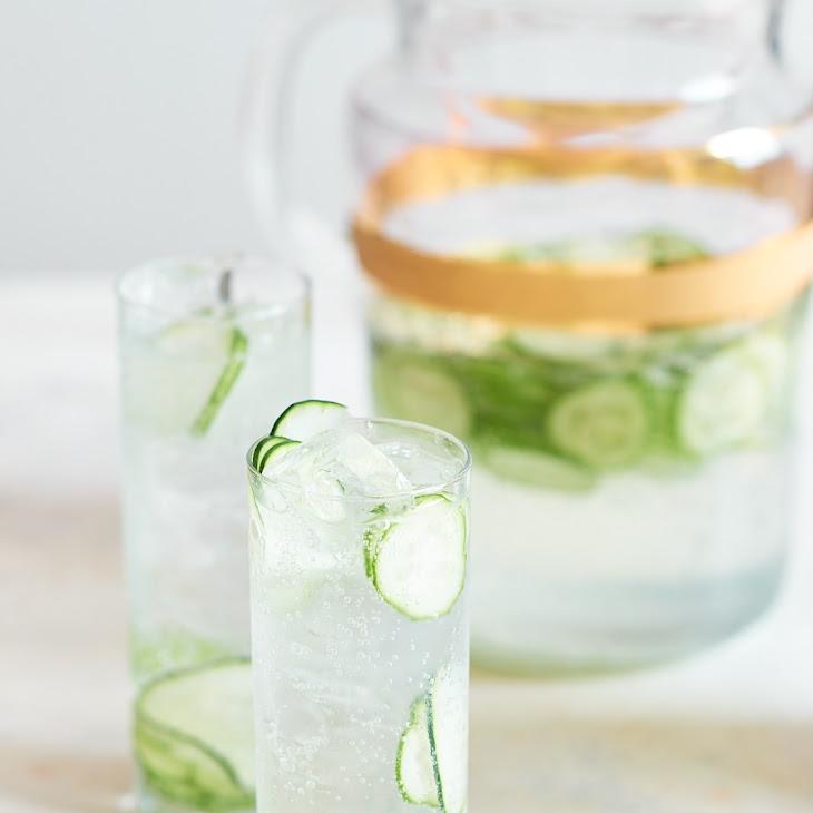 Cucumber Gin & Tonic Pitcher Cocktail Recipe