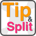 Tip and Bill divider icon