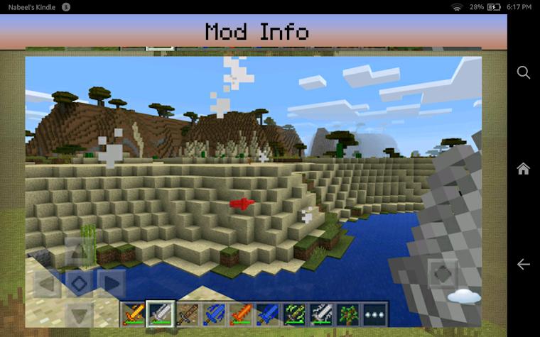 Swords Mod for Minecraft PE Screenshot