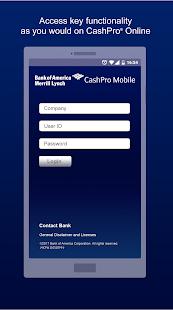 cashpro online bank of america login