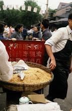 Photo: 10922 上海/自由市場/干しエビ