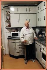 Serapio en la cocina