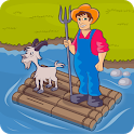 River Crossing IQ Logic Puzzles & Fun Brain Games icon