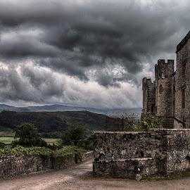 Muncaster Castle by Martyn Clarke-Jones - Buildings & Architecture Public & Historical ( moody, castle, landscape )