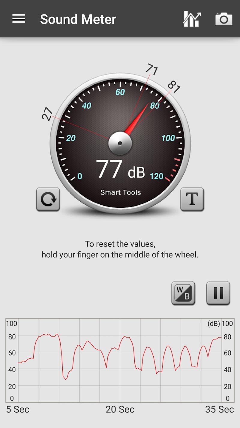 Sound Meter Pro Screenshot 1