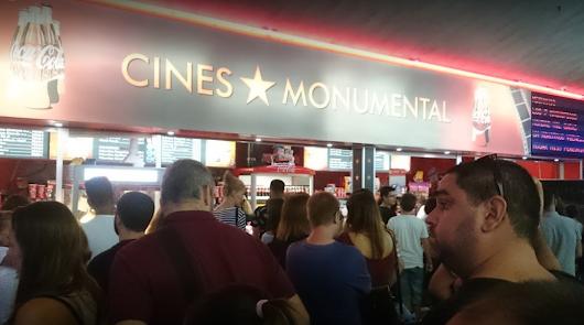 La Fiesta del Cine llega mañana a los Monumental