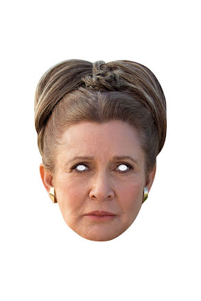 Pappmask, Princess Leia Star Wars