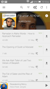 Multi Speaker Islamic Audio- screenshot thumbnail