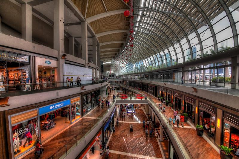 Photo: Shopping Heaven - The Shoppes at Marina Bay Sands