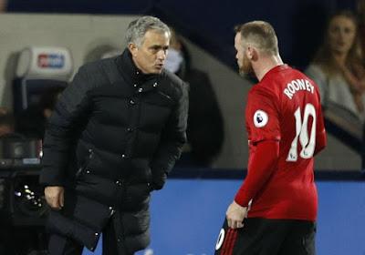 Rooney à Everton, Mourinho n'y croit pas