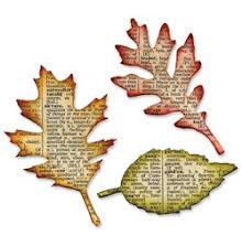 Tim Holtz Sizzix Bigz Die - Holtz Tattered Leaves