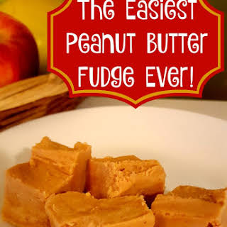 The Easiest Peanut Butter Fudge Recipe Ever.