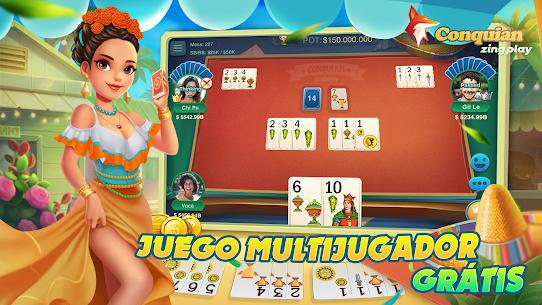 Conquian Zingplay: el mejor juego de cartas gratis 2