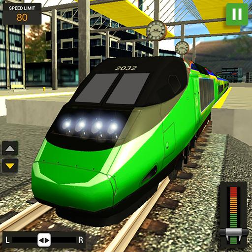City Train Driver Simulator 2019: Free Train Games Icon