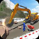 Stone Cutter Heavy Excavator Simulator 20 icon