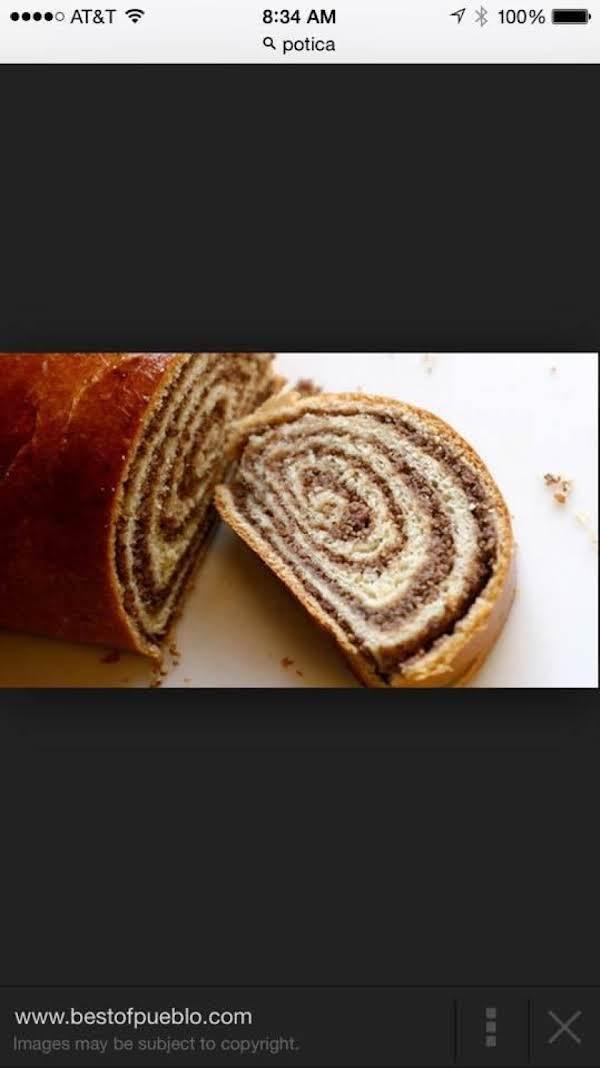 Potica (croation Bread) Recipe