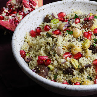 Royal Couscous with Apricots and Pistachios.