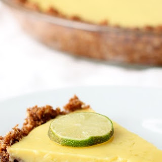 Gingersnap Key Lime Pie