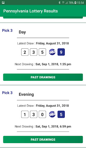 Pennsylvania Lottery Results 1.0 screenshots 6