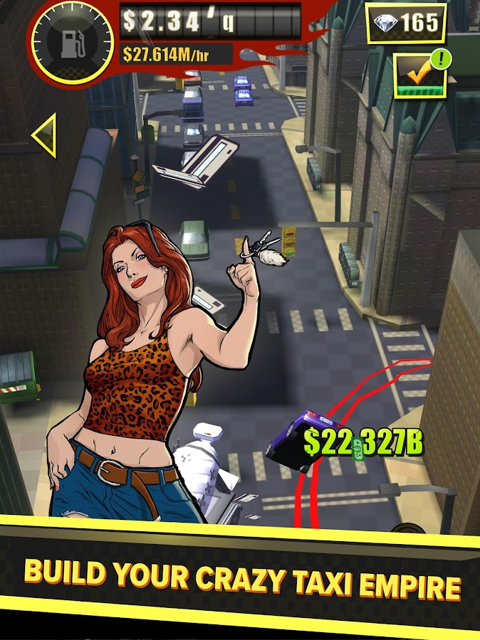 SEGA: CRAZY TAXI Gazillionaire- screenshot