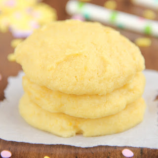 Double Lemon Pudding Cookies
