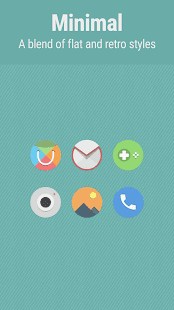 Flatro Icon Pack Screenshot