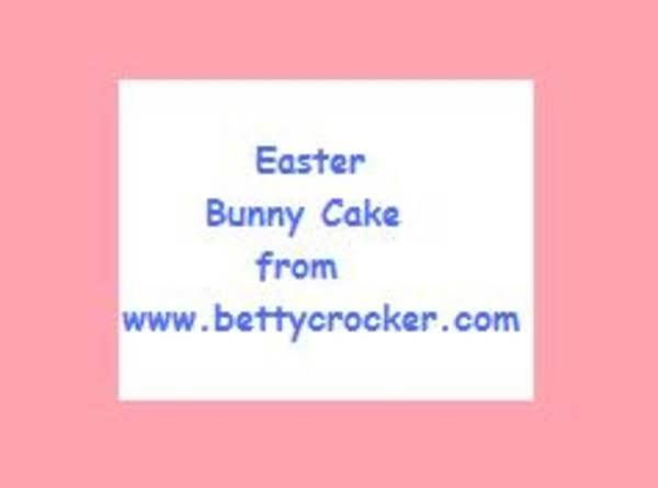 Bunny Bottom Cake For Easter- Betty Crocker