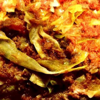 Filipino Corned Beef and Cabbage.
