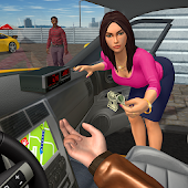 Taxi Game Free - Top Simulator Games Icon