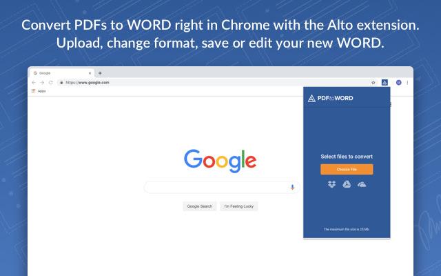 AltoConvertPDFtoWord: Free PDF to DOC Tool