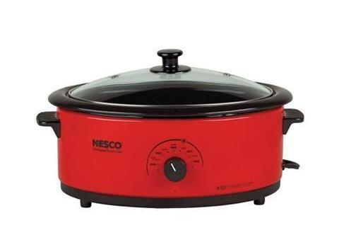 I love to cook my roasts in my Nesco slow/fast cooker.