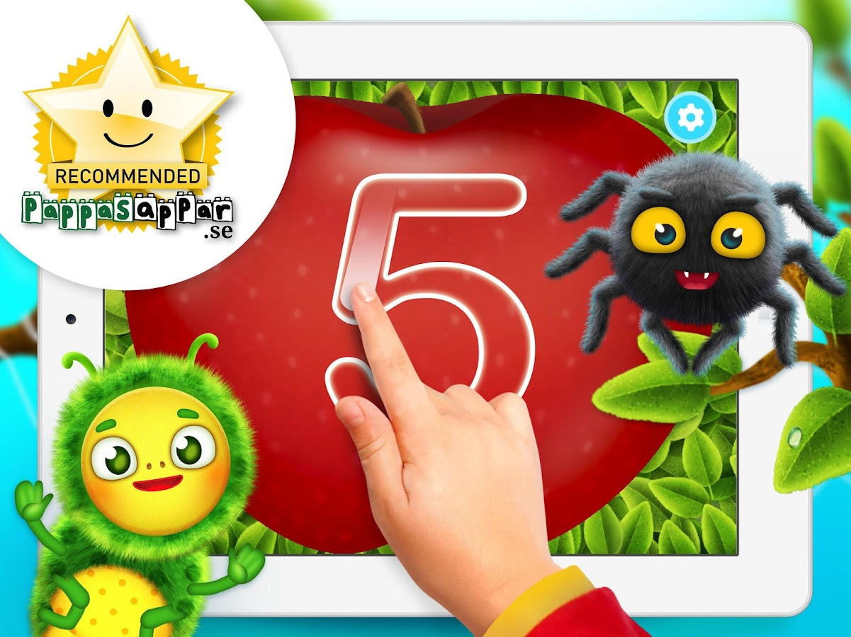 Yum-Yum Numbers for kids- screenshot