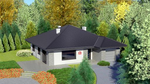 projekt Dom przy Słonecznej 3 bis