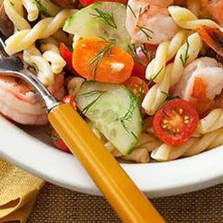 Shrimp, Lemon & Gemelli Party Pasta Salad.