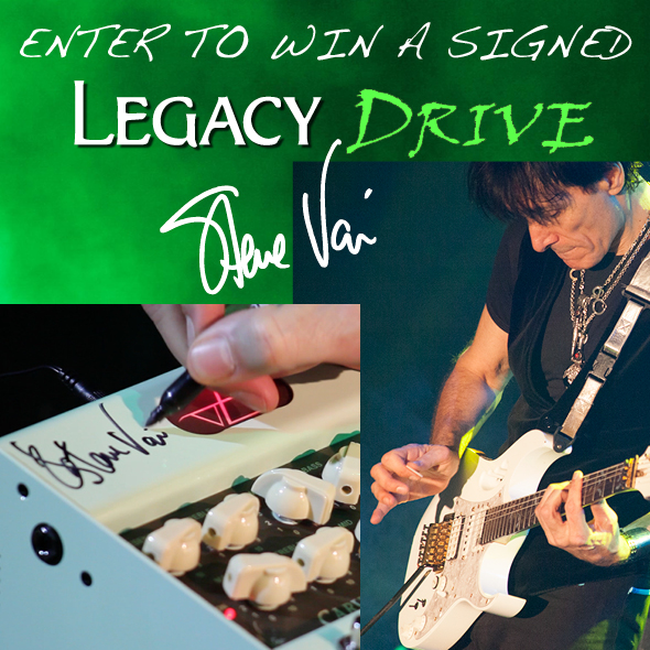 Win a Signed Legacy Drive