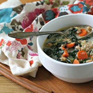 Creamy Sausage and Kale Soup (Dairy Free, Paleo)